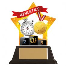 Athletics Mini-Star Acrylic Award